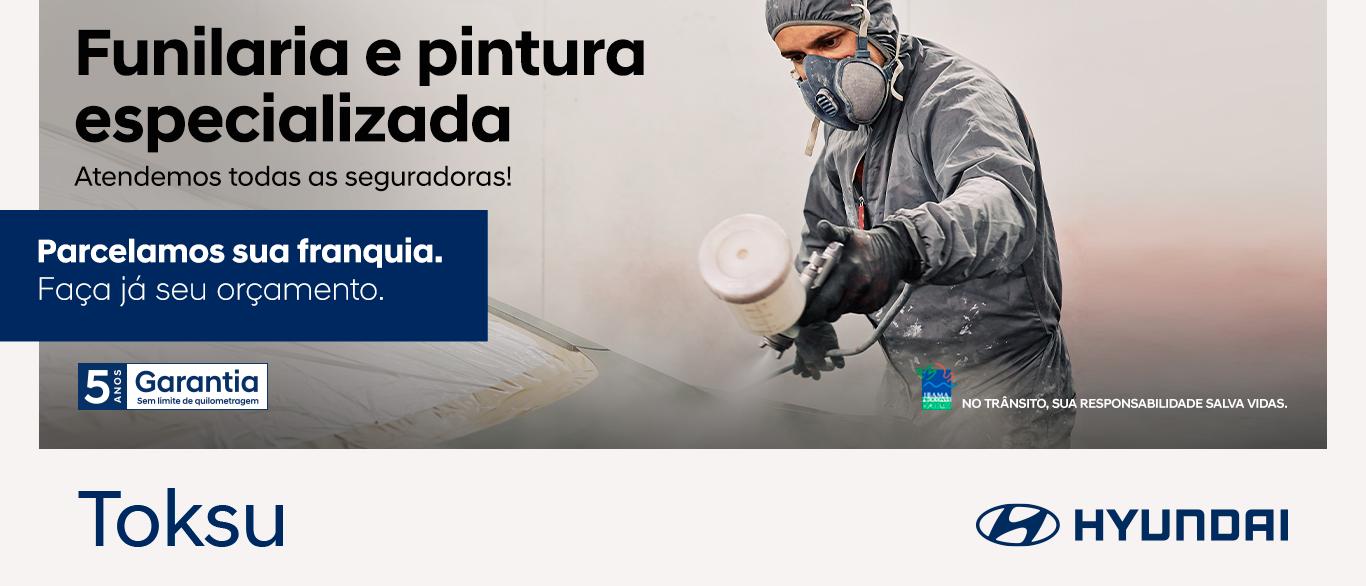 Funilaria e Pintura Hyundai Toksu